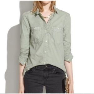 Madewell Button Front Shirt   Size XS